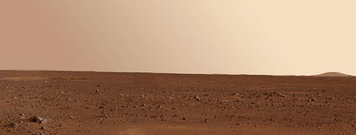 A peek to Mars